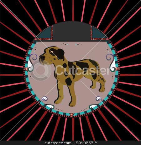 Dalmatian Dog stock vector clipart, Dalmatian Dog by ElemenTxD