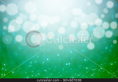 abstract blurred photo of bokeh green and blue light burst and t stock photo, abstract blurred photo of bokeh green and blue light burst and textures. multicolored light. by Miss. PENCHAN  PUMILA