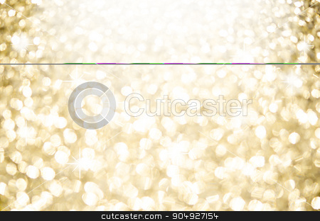 Twinkly Lights and Stars Christmas. stock photo, Twinkly Lights and Stars Christmas Background by Miss. PENCHAN  PUMILA