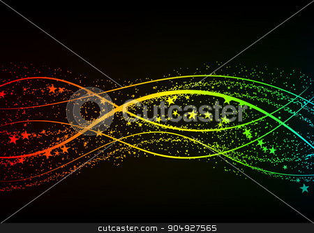 Vector illustration of a colored background stock vector clipart, Vector illustration of a colored background. Stock vector by Amelisk