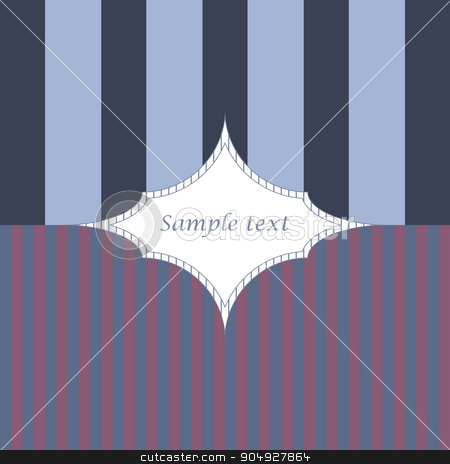 Vector illustration background with frame stock vector clipart, Vector illustration background with frame. Stock vector by Amelisk