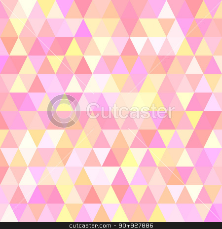 Vector illustration of a background with triangles stock vector clipart, Vector illustration of a background with triangles. by Amelisk