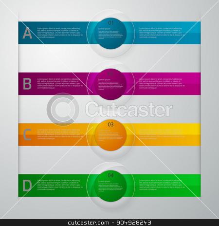 Vector illustration infographics glass slider stock vector clipart, Vector illustration infographics glass slider. Stock vector by Amelisk