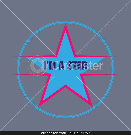 star typography, t-shirt graphics stock vector clipart, i m a star typography, t-shirt graphics. vector illustration. by Amelisk