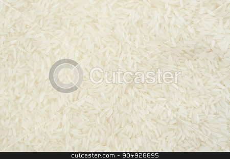 Raw white rice texture. stock photo, Raw white rice texture as background. by Miss. PENCHAN  PUMILA