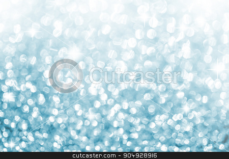 Lights on blue background. stock photo, Lights on blue abstract background. by Miss. PENCHAN  PUMILA
