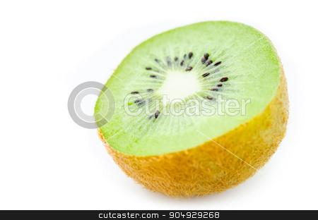 Fresh Kiwi fruit. stock photo, Fresh Kiwi fruit isolated on white background by Miss. PENCHAN  PUMILA