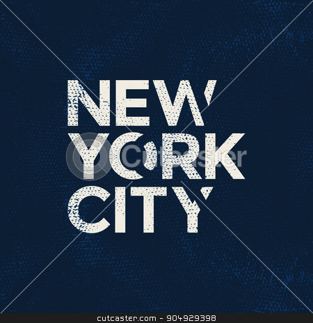 New york city typography, t-shirt graphics stock vector clipart, New york city typography, t-shirt graphics. Vector illustration. by Amelisk