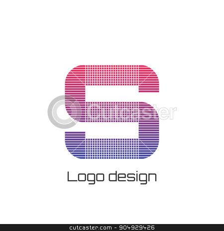 Vector illustration logo s stock vector clipart, Vector illustration logo letter s. Stock vector by Amelisk