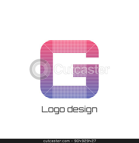 Vector illustration logo g stock vector clipart, vector illustration logo letter g. Stock vector by Amelisk