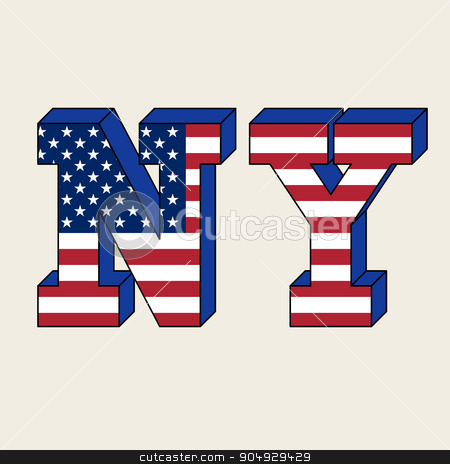 NYC typography, t-shirt graphics stock vector clipart, NYC typography, t-shirt graphics. The Stock vector by Amelisk