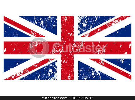 Vector illustration of the flag Great Britain stock vector clipart, Vector illustration of the flag of Great Britain. Stock vector by Amelisk