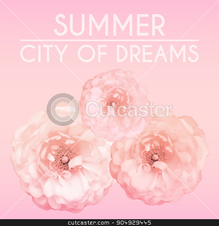 background with flowers summer stock vector clipart, background with flowers summer. The Stock vector by Amelisk