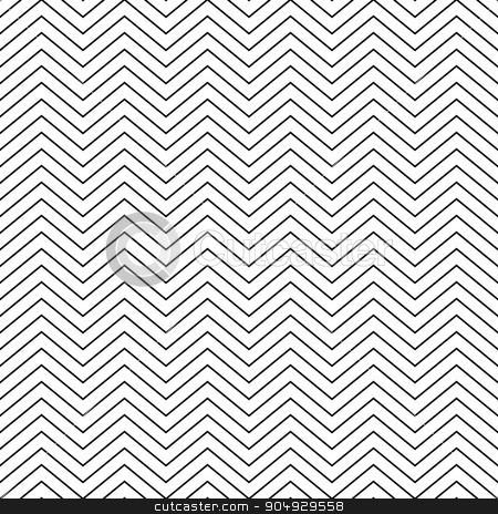 Vector illustration seamless pattern zig zag stock vector clipart, Vector illustration seamless pattern zig zag. Stock vector by Amelisk