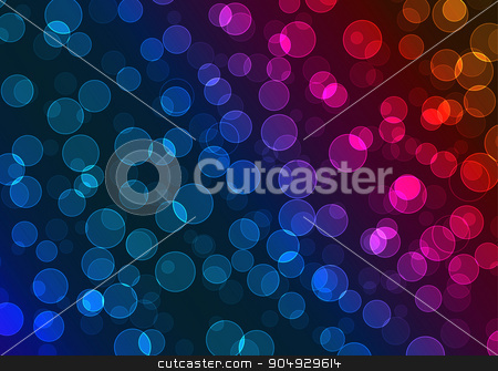Vector illustration of colorful bokeh stock vector clipart, Vector illustration of colorful bokeh. Stock vector by Amelisk