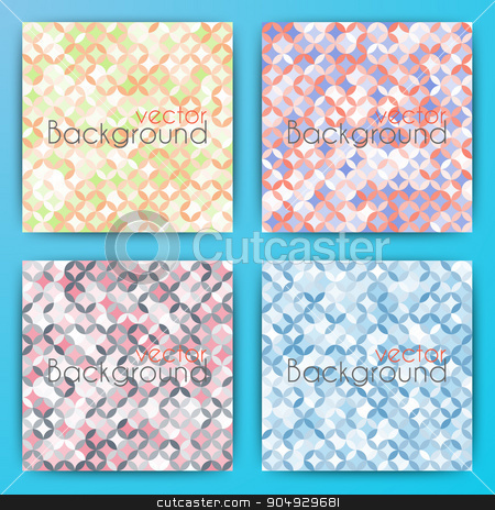 Stock Vector Set abstract background. stock vector clipart, Stock Vector Set abstract background. Stock vector by Amelisk