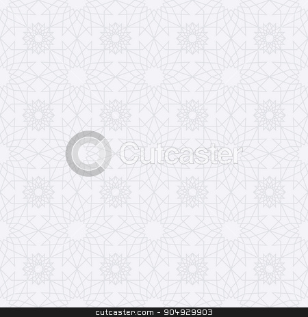 Stock Vector Islamic seamless pattern. stock vector clipart, Stock Vector Islamic seamless pattern. Stock vector by Amelisk