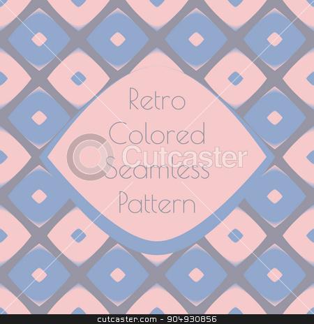 Print retro pattern stock vector clipart, Print retro for wallpaper design with geometric shaoes, made in vector by Anastasiya Ramanenka