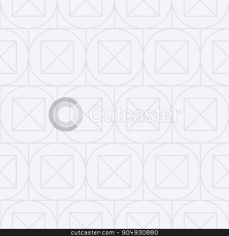 Vector illustration of a seamless linear pattern stock vector clipart, Vector illustration of a seamless linear pattern of squares. by Amelisk