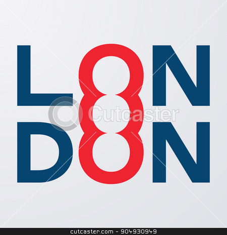 Stock prints T-shirts London stock vector clipart, Stock prints T-shirts London. The Stock vector by Amelisk