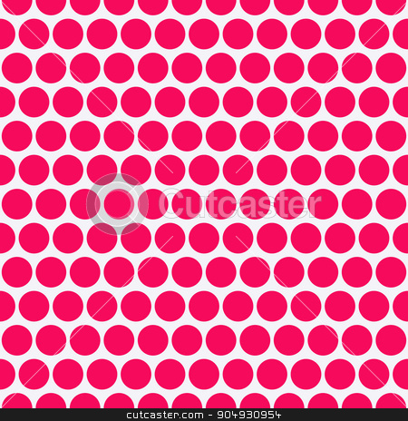 Vector illustration of a seamless pattern stock vector clipart, Vector illustration of a seamless pattern of circles. by Amelisk
