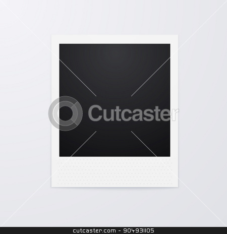 Vector illustration of a Polaroid picture stock vector clipart, Vector illustration of a Polaroid picture. Stock vector by Amelisk