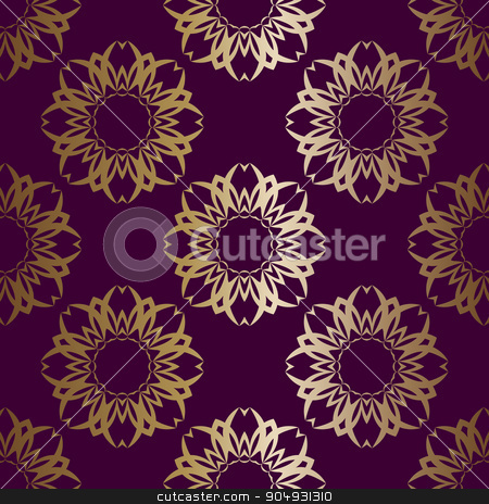 Seamless geometric pattern stock vector clipart, Vector illustration Seamless geometric pattern. Stock vector by Amelisk