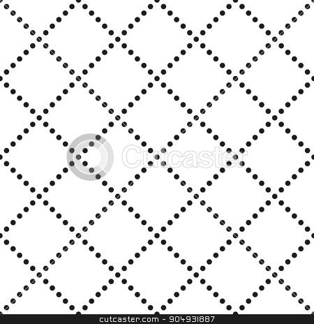 Vector illustration seamless pattern of dots stock vector clipart, Vector illustration seamless pattern of dots. Stock vector by Amelisk