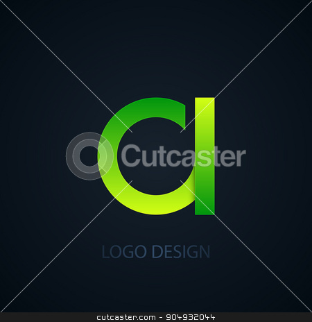 Vector illustration of abstract business logo stock vector clipart, Vector illustration of abstract business logo letter a. by Amelisk