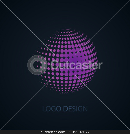 Vector illustration of abstract business logo stock vector clipart, Vector illustration of abstract business logo. Stock vector by Amelisk