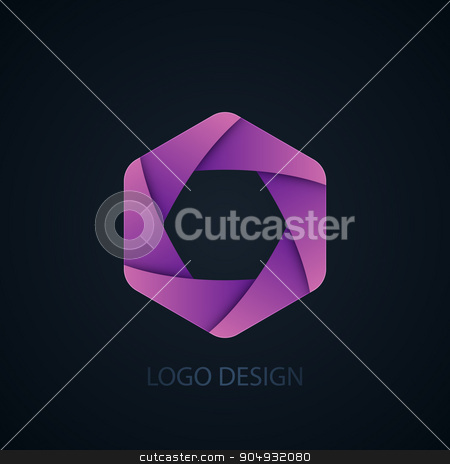 Vector illustration of abstract business logo stock vector clipart, Vector illustration of abstract business logo Photographer. by Amelisk