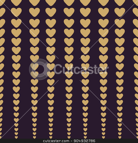 Abstract hearts background stock vector clipart, Abstract background of hearts. Vector background Valentines day and wedding by kozyrevaelena