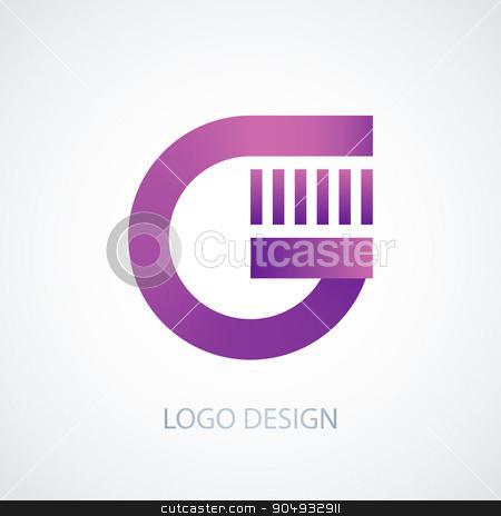 Vector illustration of logo letter g stock vector clipart, Vector illustration of logo letter g. Stock vector by Amelisk
