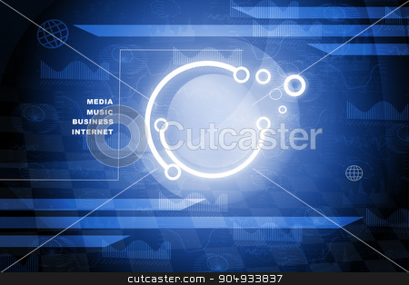Abstract background with business words stock photo, Abstract background with world map and business words by cherezoff