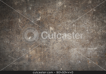 Close-up of an old canvas suitcase stock photo, Close-up of an old canvas suitcase, vintage look by michaklootwijk
