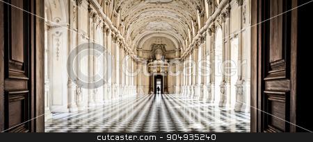 Italy - Royal Palace: Galleria di Diana, Venaria stock photo, View of Galleria di Diana in Venaria Royal Palace, close to Torino, Piemonte region by Paolo Gallo
