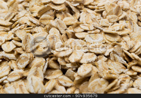 Oats - background food concept stock photo, Oats - healthy lifestyle background food concept - breakfast by Michal