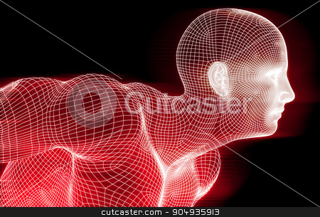 Abstract Technology stock photo, Abstract technology Business Template Background as Art by Kheng Ho Toh