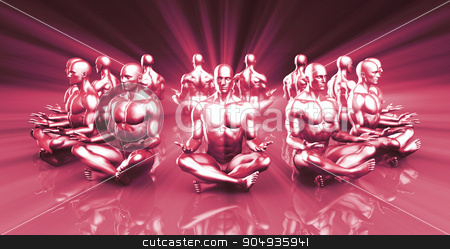Zen State stock photo, Zen State and a Peaceful or Calm Mind Concept by Kheng Ho Toh