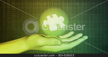 Science Technology Discovery stock photo, Science Technology Discovery with Company Vision as Art by Kheng Ho Toh