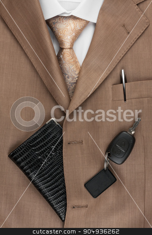 rights lying on the suit and tie stock photo, rights lying on the suit and tie, can be used as background by alekleks