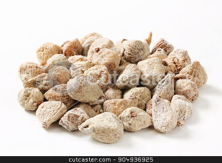 Dried figs stock photo, Studio shot of dried figs by Digifoodstock