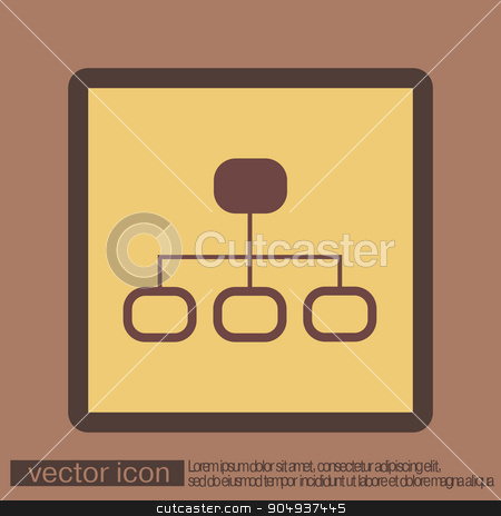 server network. stock vector clipart, server network. by LittleCuckoo