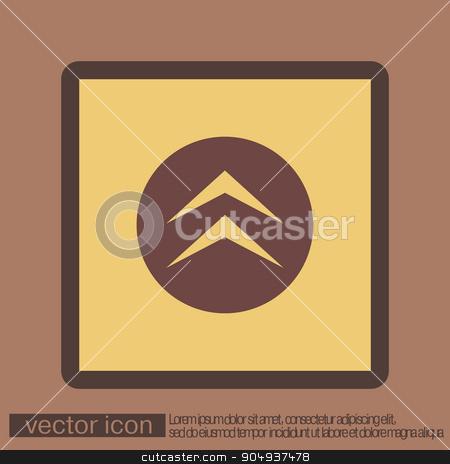 move arrows stock vector clipart, move arrows sign by LittleCuckoo
