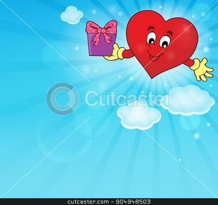 Stylized heart theme image 4 stock vector clipart, Stylized heart theme image 4 - eps10 vector illustration. by Klara Viskova