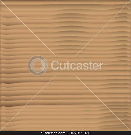 Sand On The Beach stock vector clipart, The ripples on the sand left after the tide hs gone out by Kotto