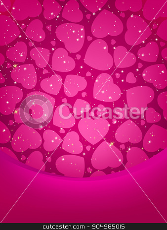 Valentine's card with copy space. EPS 8 stock vector clipart, Valentine's card with copy space. EPS 8 vector file included by Vladimir Petrov