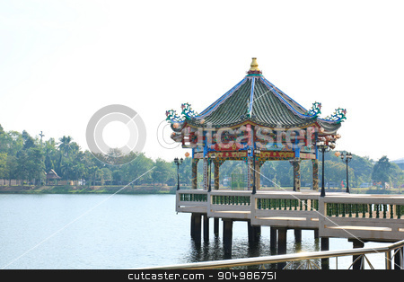 Chinese temple stock photo, Chinese temple by doraclub