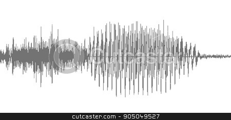 Abstract design background in the form of wave stock vector clipart, Abstract design background in the form of wave. Vector art by Pavel