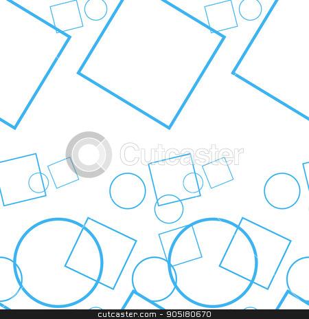 Monochrome geometric seamless stock vector clipart, Monochrome geometric seamless pattern design for background. by Anastasiya Ramanenka